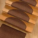 Накладки на ступени из ковролина